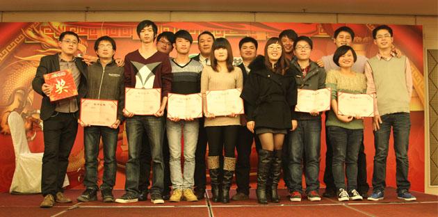 2012年1月9日,我集团公司举办年终尾牙宴暨员工答谢会